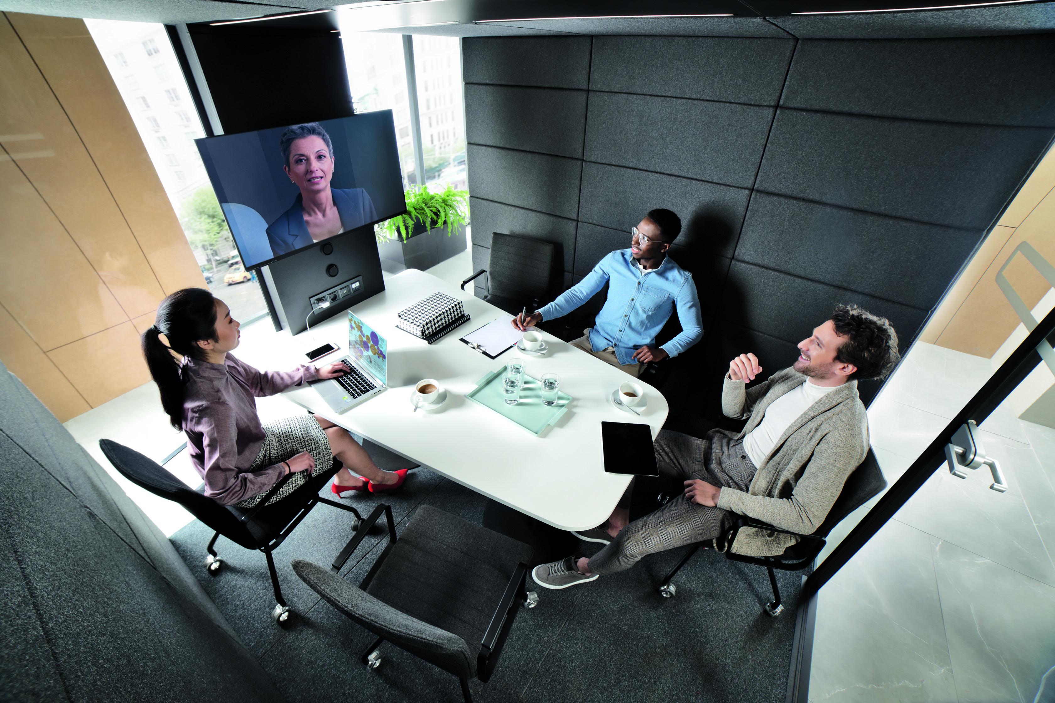 HushMeet L Meetingbox / Besprechungsraum Mikomax