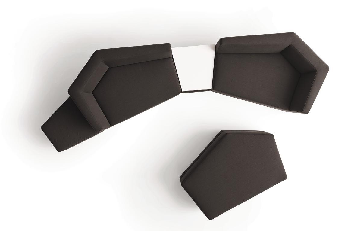 Scope Sofa Sitzelement niedrig Cor