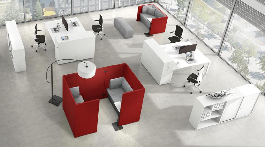 Syneo Bench von Assmann Büromöbel
