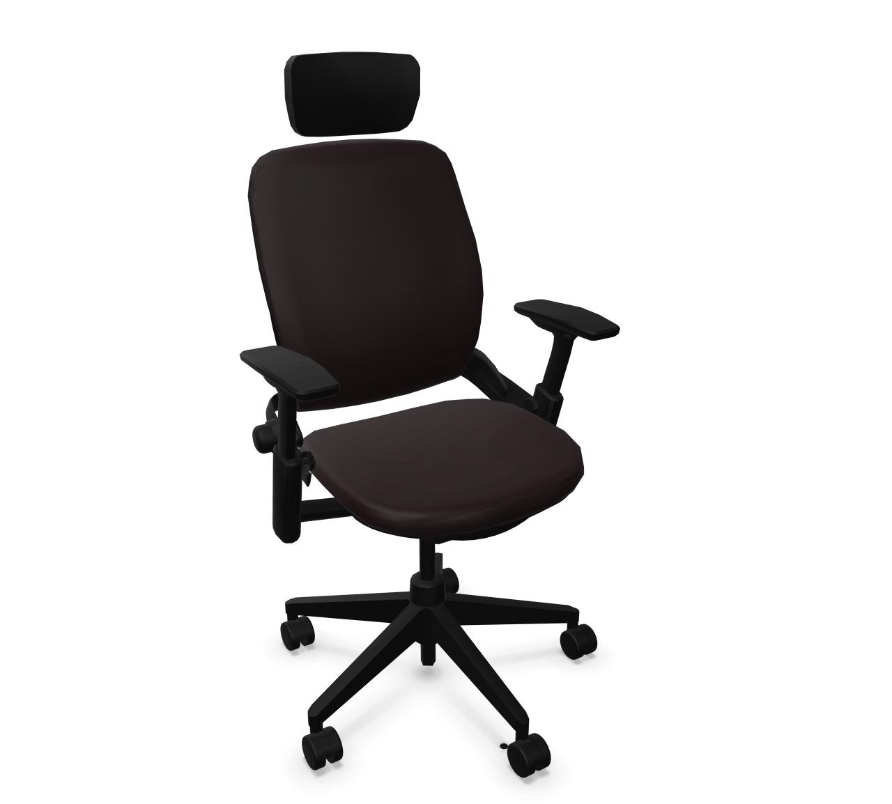 Leap 24/7 Arbeitsstuhl mit Kopfstütze von Steelcase