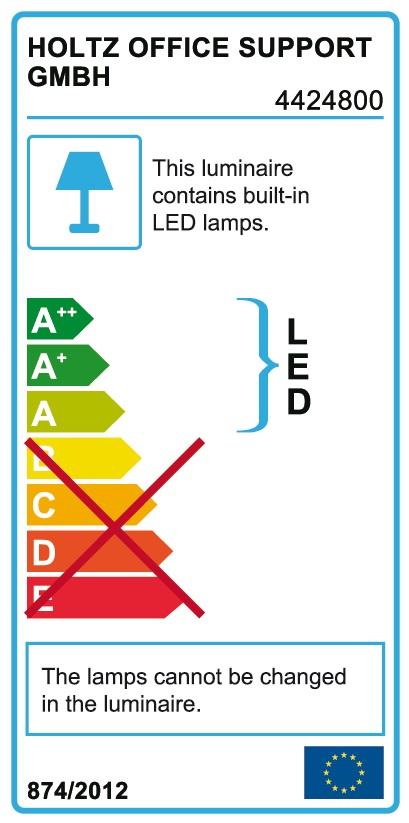EXO LED Schreibtischlampe von magnetoplan