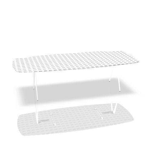 """Klapptisch """"A-Table"""" Bootsform von Brunner"""