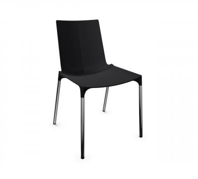macao Stuhl Kunststoffschale ohne Armlehnen von Wiesner Hager