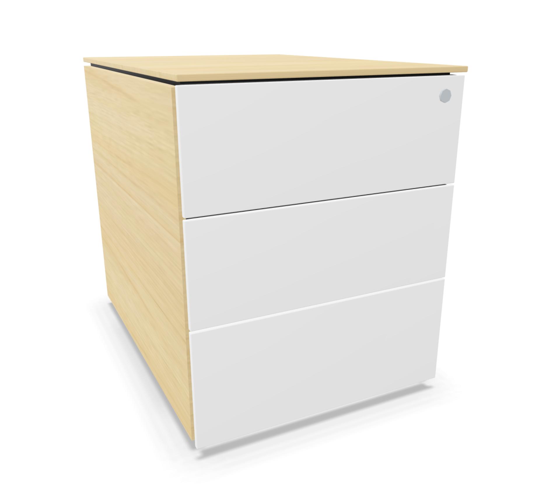 Implicit Premium Rollcontainer grifflos von Steelcase