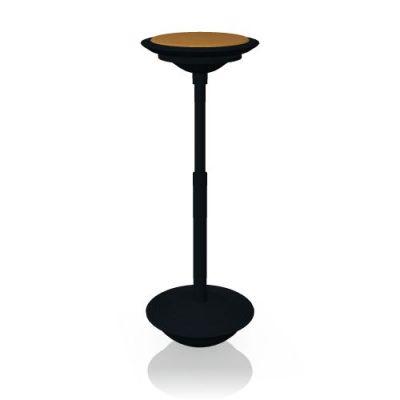 Stitz 201/2 mit Sitzbezug Gestell schwarz von Wilkhahn