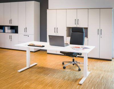 Hiplift Sitz/- Stehtisch Büroforum