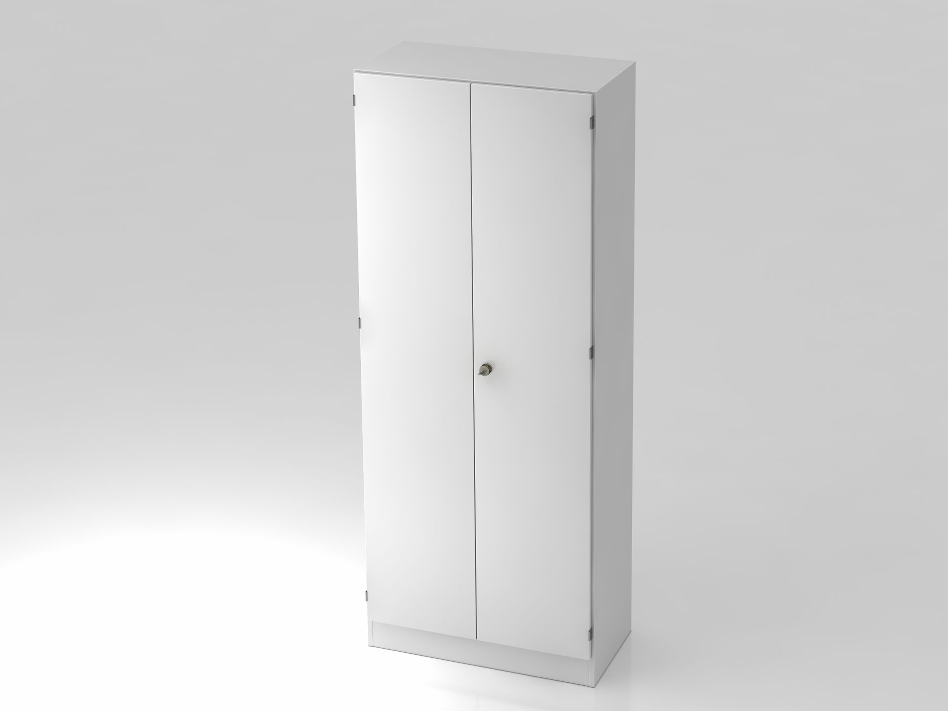 Kürnach Garderobenschrank 5 Ordnerhöhen hoch, 80 cm breit ...