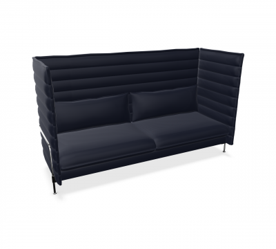 Alcove Highback Sofa Three-Seater von Vitra