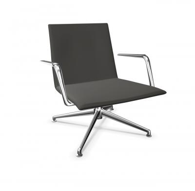 Finalounge Sessel mit Armlehnen von Brunner
