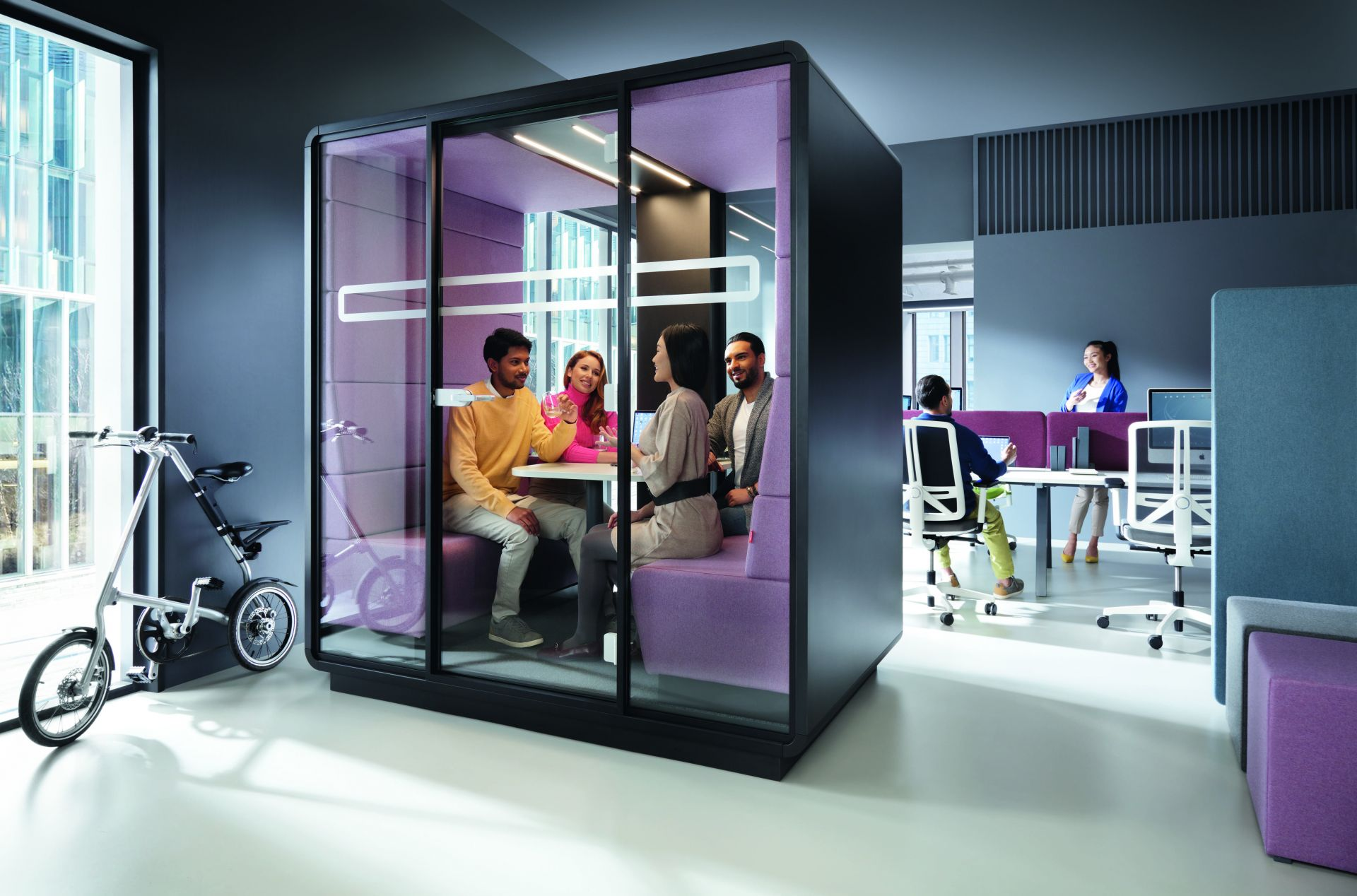 HushMeet  Meetingbox / Besprechungsraum Mikomax