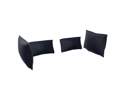Kissensatz Alcove Highback & Xtra High Sofa Two-Seater von Vitra